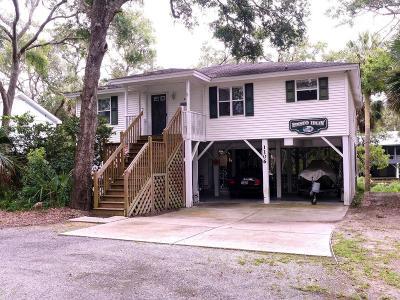 Edisto Beach Single Family Home For Sale: 1106 Jungle Road