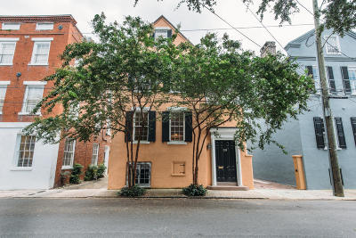 Charleston Single Family Home For Sale: 39 Society Street