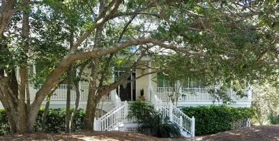 Isle Of Palms Single Family Home For Sale: 6821 Back Bay Drive