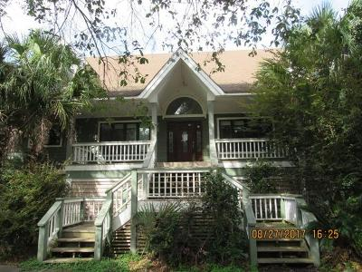 Johns Island Single Family Home For Sale: 2205 Shoreline Drive