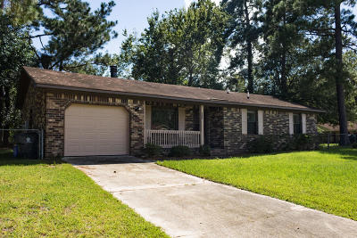 Summerville Single Family Home Contingent: 116 Heather Drive