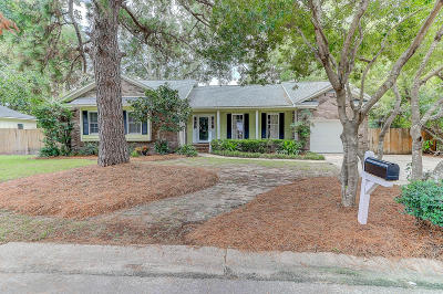 Mount Pleasant Single Family Home Contingent: 918 Night Heron Drive