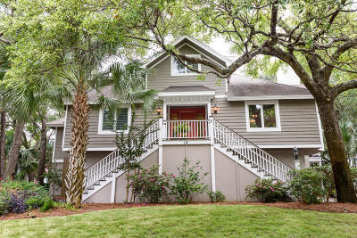 Isle Of Palms Single Family Home For Sale: 14 43rd Avenue