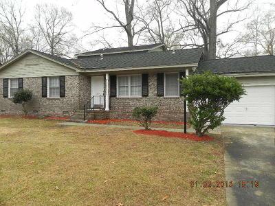 North Charleston Single Family Home For Sale: 3421 Plaza Lane