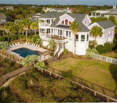 Isle Of Palms Single Family Home For Sale: 2 52nd Avenue