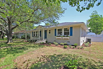 Mount Pleasant Single Family Home For Sale: 1480 Mataoka Street