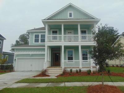 Mount Pleasant Single Family Home For Sale: 3526 Crosstrees Lane