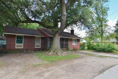 Charleston Single Family Home For Sale: 1401 Secessionville Road