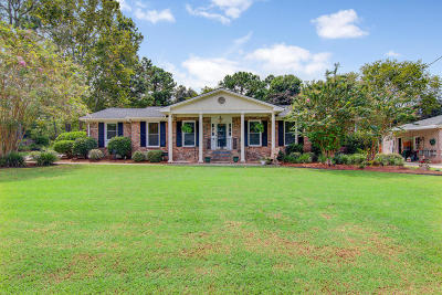 Charleston Single Family Home For Sale: 45 Norview Drive