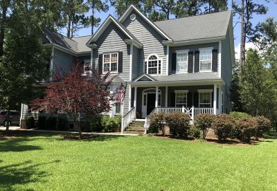 Mount Pleasant Single Family Home For Sale: 1828 S. James Gregarie