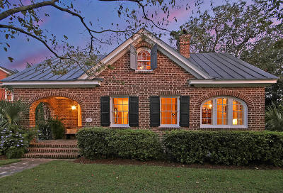 Charleston Single Family Home For Sale: 55 Folly Road Boulevard