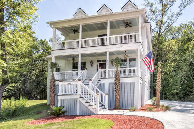 Charleston Single Family Home For Sale: 805 Hunt Club Run