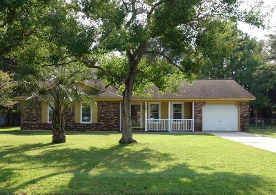 Summerville Single Family Home For Sale: 1301 Hampton Drive