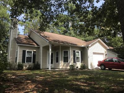 Summerville Single Family Home For Sale: 206 Birmingham Drive