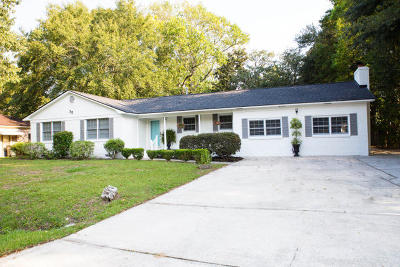 Charleston Single Family Home Contingent: 35 Bossis Drive