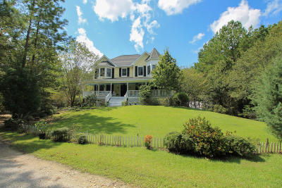 Summerville Single Family Home For Sale: 1375 Old Dairy Road