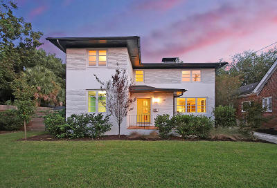 Charleston Single Family Home For Sale: 261 Grove Street