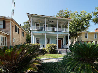 Charleston Single Family Home For Sale: 5 Sutherland Avenue