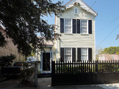 Charleston Single Family Home For Sale: 95 America Street
