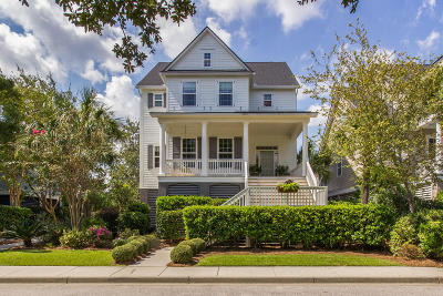 Charleston Single Family Home For Sale: 207 N Ladd Court
