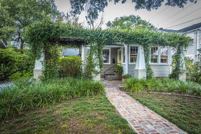 Charleston Single Family Home Contingent: 160 San Souci Street