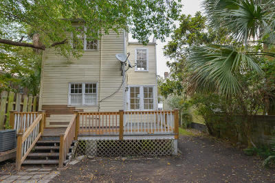 Charleston Single Family Home For Sale: 29 Gadsden Street #A &