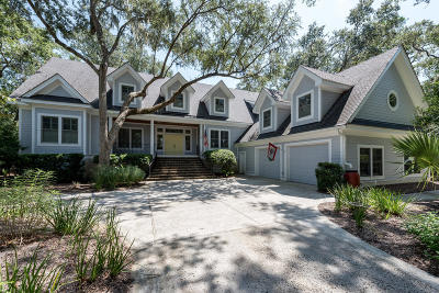 Seabrook Island Single Family Home For Sale: 2507 The Bent Twig