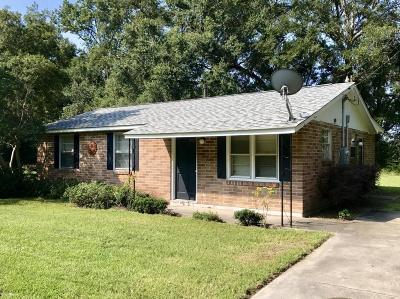 Single Family Home For Sale: 1721 Etheridge Road