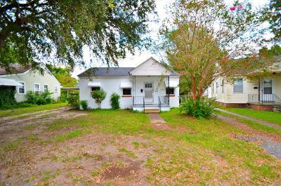 North Charleston Single Family Home For Sale: 3852 Chestnut Street