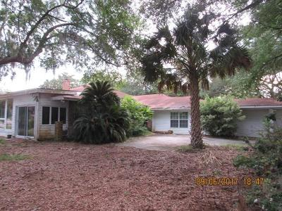 Charleston Single Family Home For Sale: 1267 S Edgewater Drive