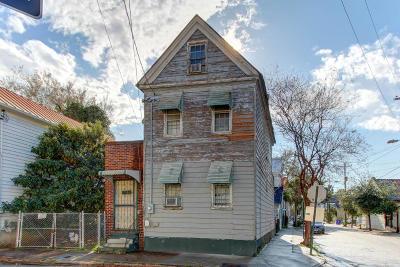 Charleston Single Family Home For Sale: 59 Ashe Street