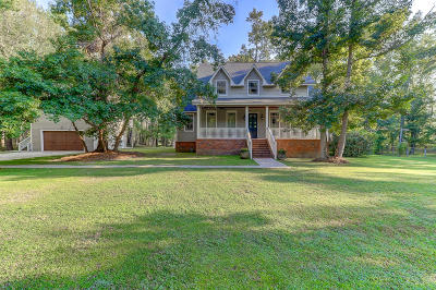 Johns Island Single Family Home For Sale: 3040 Fickling Hill Road