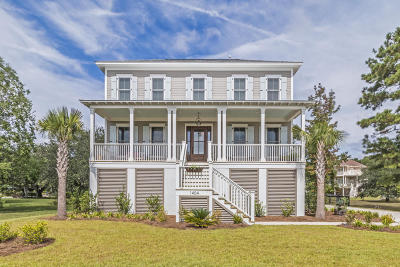 Charleston Single Family Home Contingent: 1404 Creek House Lane