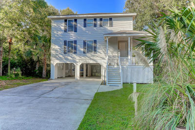Isle Of Palms Single Family Home For Sale: 13 Sand Dollar Drive