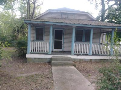 Charleston SC Single Family Home For Sale: $95,000