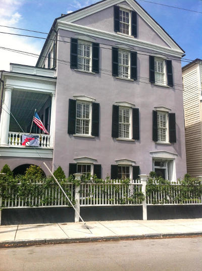 Charleston Single Family Home For Sale: 48 S Battery