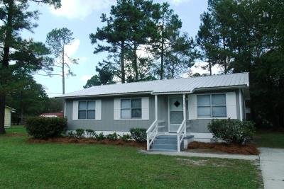 Walterboro Single Family Home For Sale: 313 Pine Needle Road