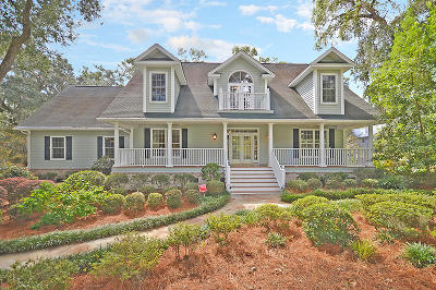 Johns Island Single Family Home For Sale: 3906 Gift Boulevard