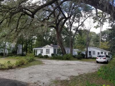 Walterboro Single Family Home For Sale: 495 Hampton Street