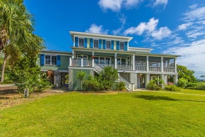 Edisto Island Single Family Home For Sale: 8526 Oyster Factory Road
