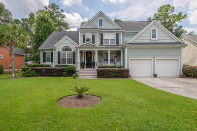 Mount Pleasant Single Family Home For Sale: 2919 Riverwood Drive