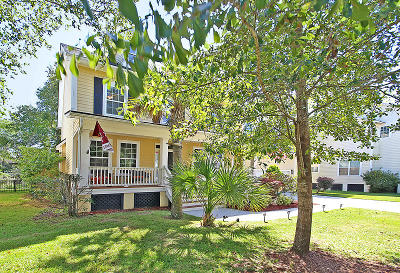Mount Pleasant Single Family Home For Sale: 3361 Toomer Kiln Circle