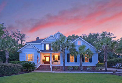 Mount Pleasant SC Single Family Home For Sale: $725,000