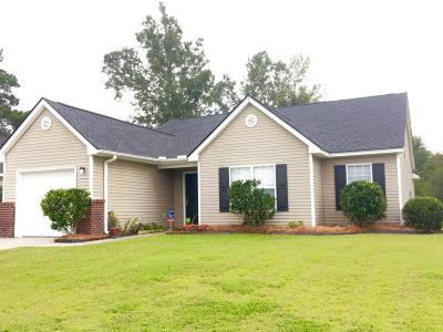 Goose Creek Single Family Home Contingent: 131 Slow Mill Drive