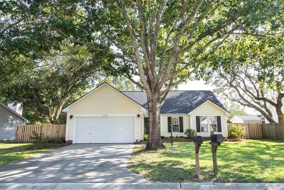 Mount Pleasant Single Family Home For Sale: 2123 Presidio Drive