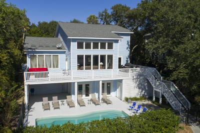 Isle Of Palms Single Family Home For Sale: 5 Edgewater Alley