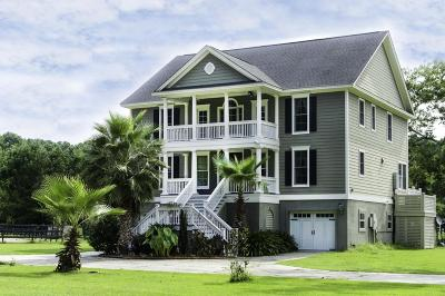 Wadmalaw Island Single Family Home Contingent: 1389 Polly Point Road
