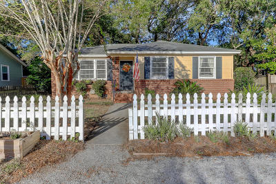 Mount Pleasant Single Family Home For Sale: 1440 Moultrie