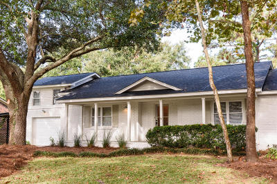 Mount Pleasant Single Family Home Contingent: 1235 Island View Drive