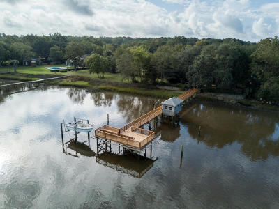 Johns Island Single Family Home For Sale: 1107 River Road